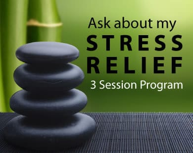 Ask about Stress Relief 3 session program